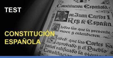 test-oposiciones-constitucion-espanola