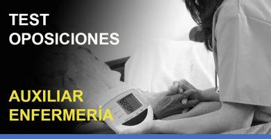 test-oposiciones-auxiliar-enfermeria
