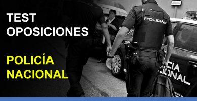 test oposiciones policía nacional